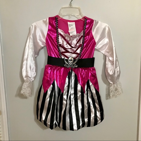 Other - Girls Pirate Halloween Costume Small